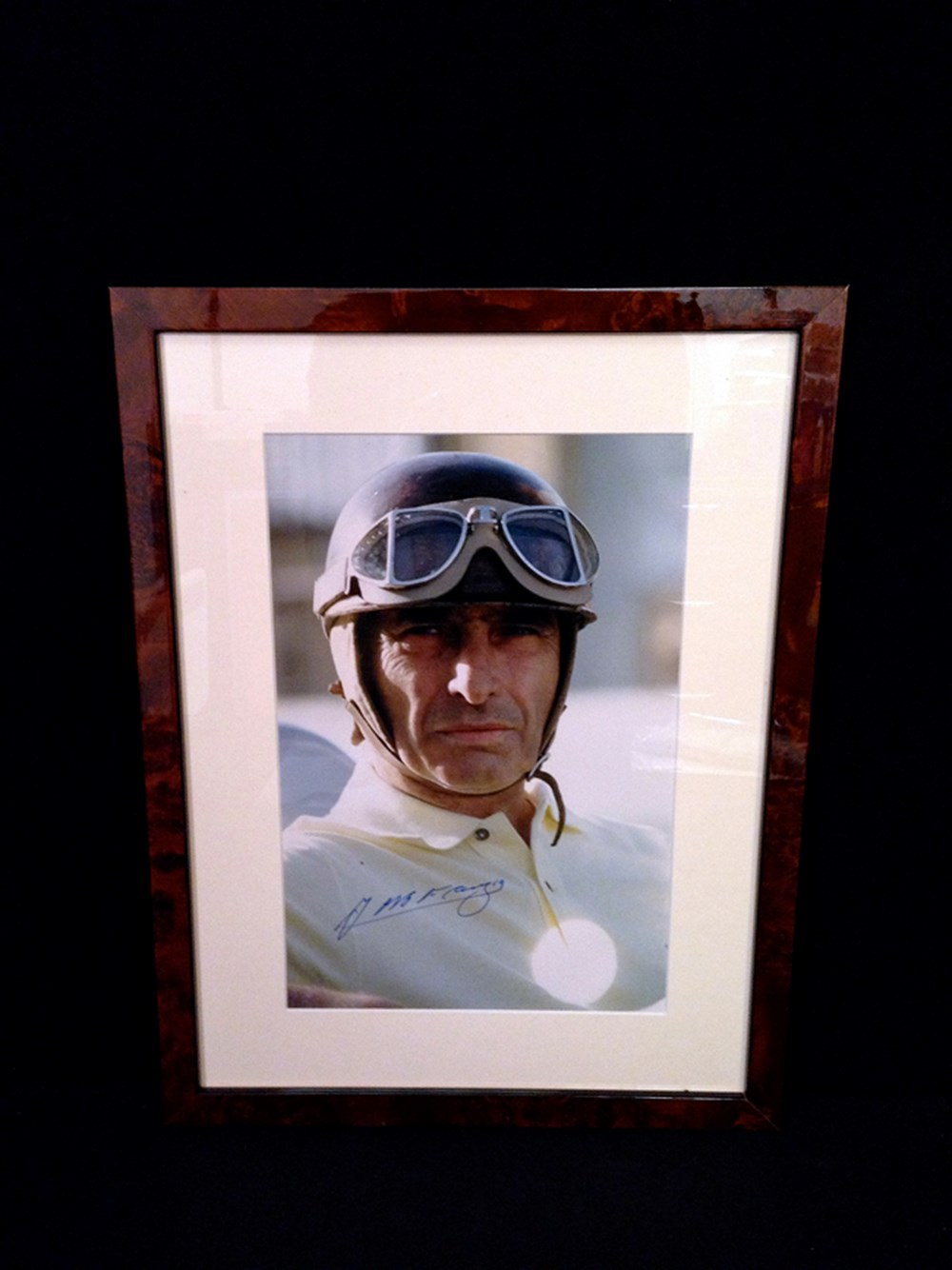 Lot 152 - Signed Fangio print