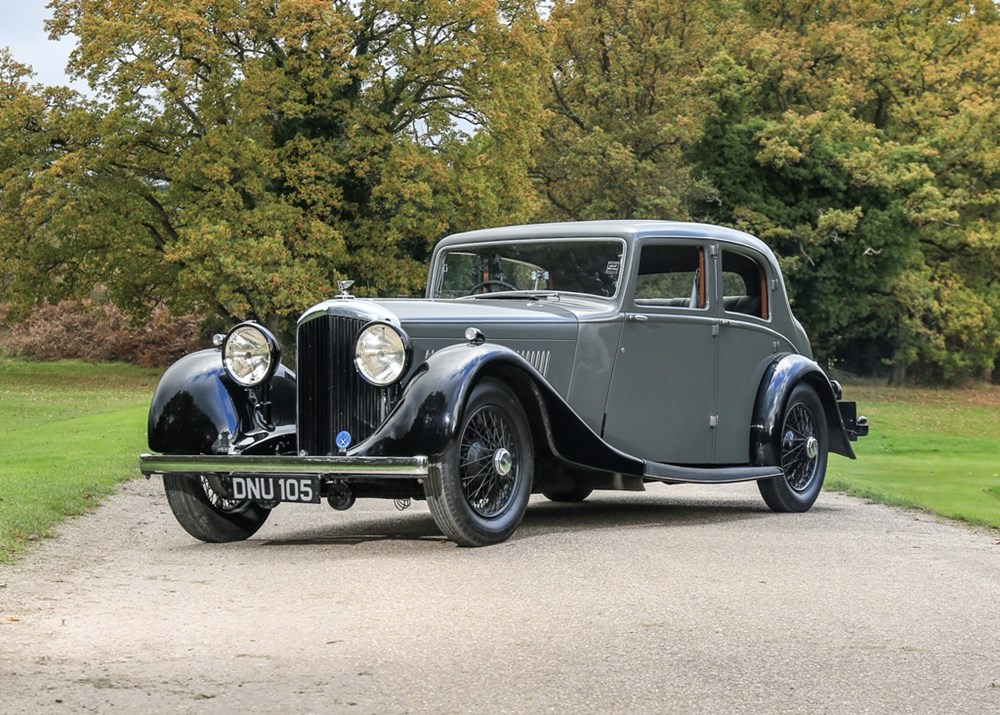 Lot 290 - 1936 Bentley 4¼ litre Sports Saloon by Park Ward