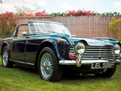 Navigate to Lot 230 - 1967 Triumph TR4 IRS
