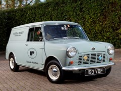 Navigate to Lot 256 - 1963 Austin Mini Van (Wood & Pickett Delivery)