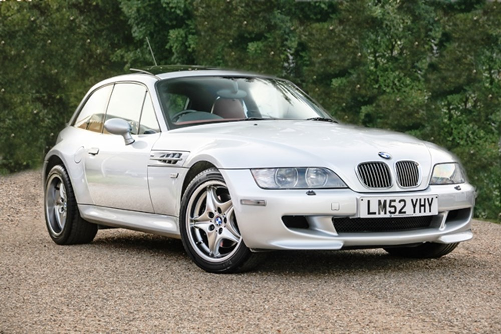 Lot 291 - 2003 BMW Z3 M Coupé S54 Specification