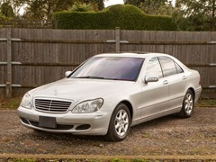 Navigate to Lot 337 - 2003 Mercedes-Benz S500