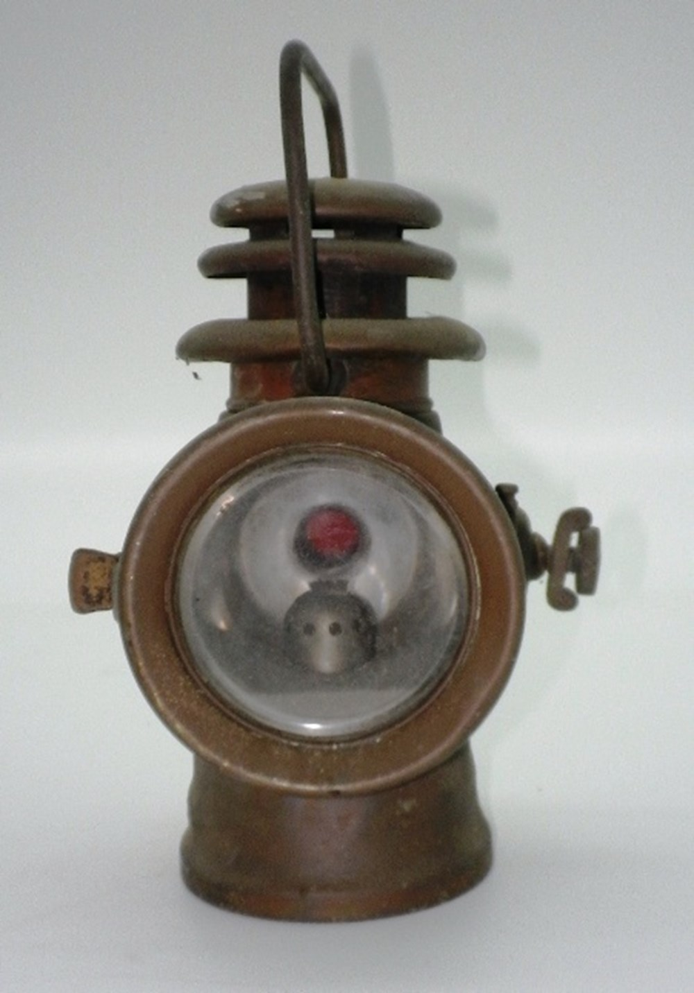 Lot 10 - Howes & Burley motor lamps