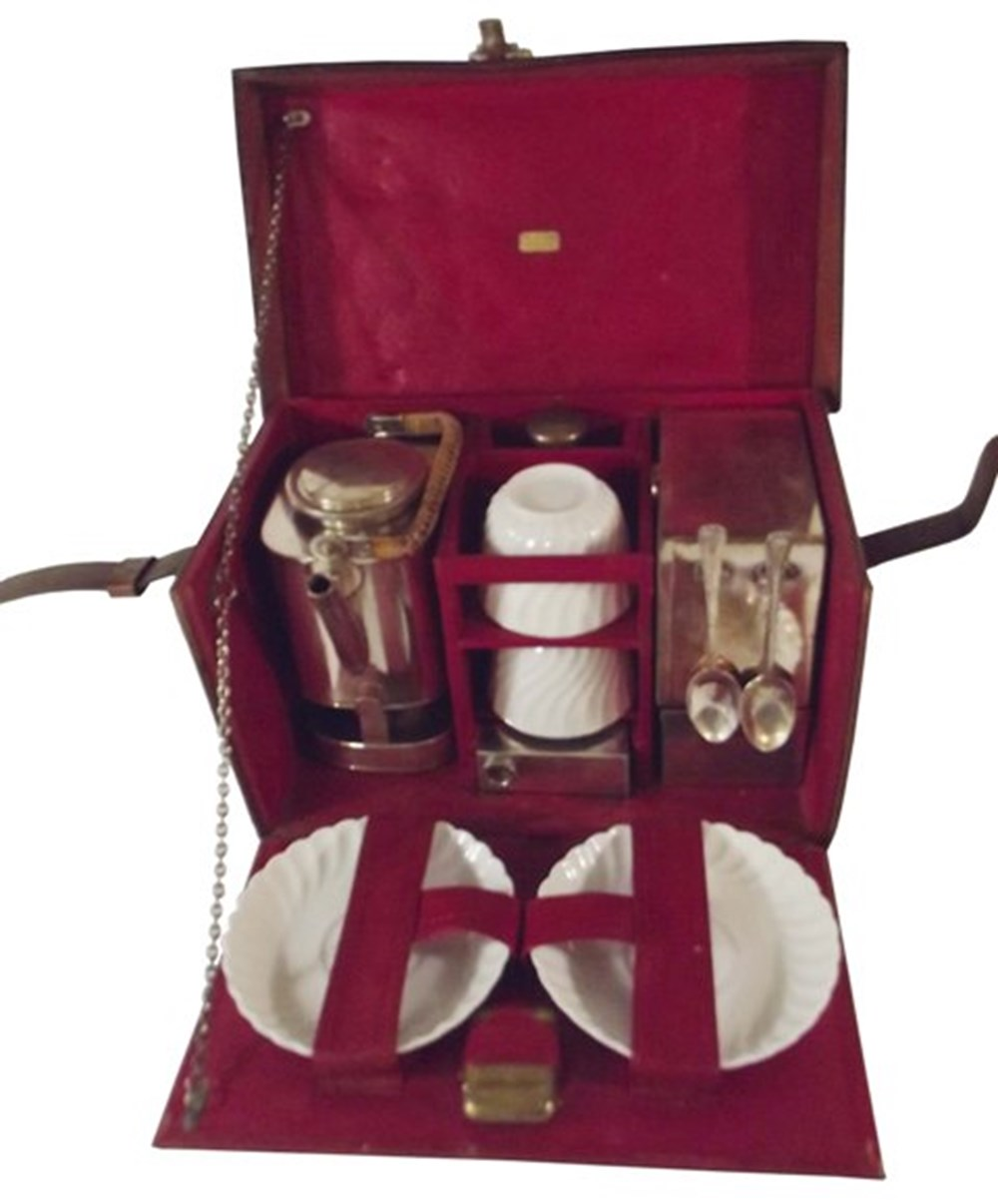 Lot 120 - Two person picnic set by W A Kiernan
