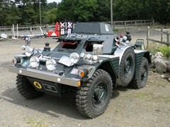 Navigate to Lot 207 - 1964 Daimler Scout Car LRV Ferret