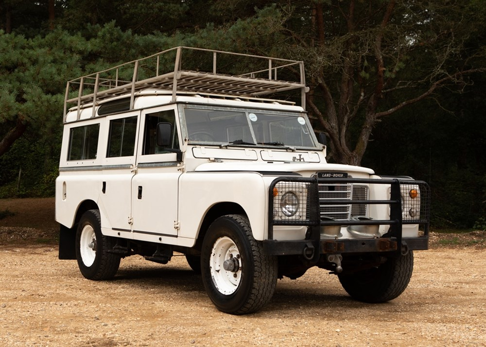 Lot 258 - 1976 Land Rover Series IIa (Long wheelbase)