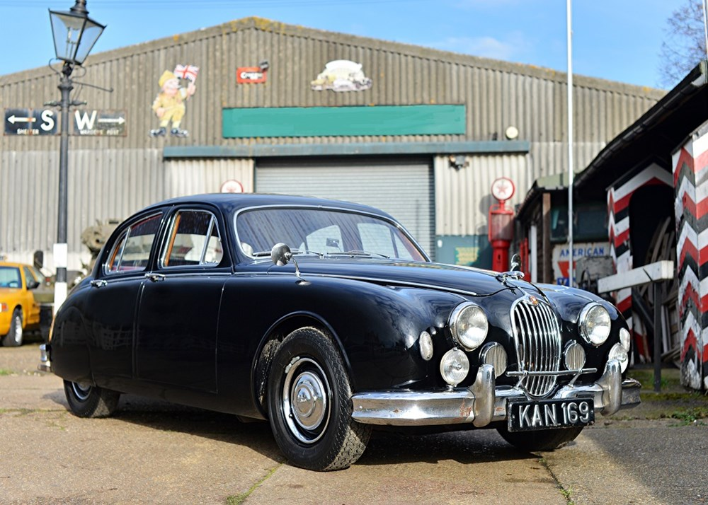 Lot 277 - 1956 Jaguar Mk.I 240 Saloon 'Endeavour' *WITHDRAWN*