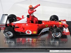 Navigate to Schumacher F1 model