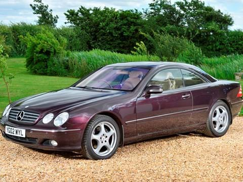 Ref 50 2002 Mercedes-Benz CL 500