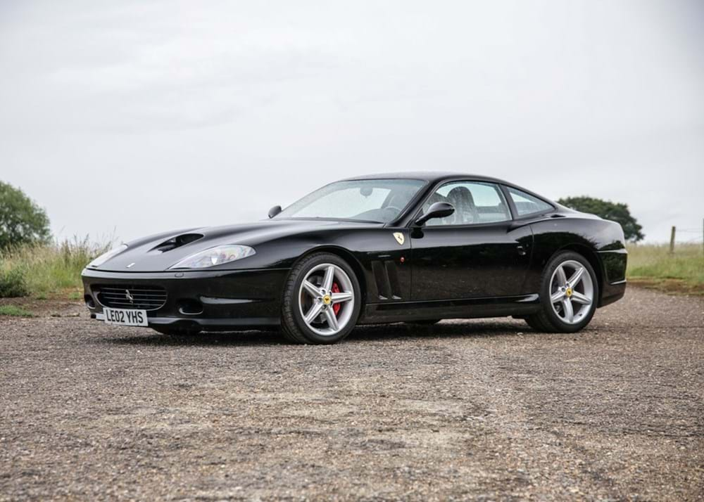 Lot 208 - 2002 Ferrari 575M Maranello
