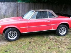 Navigate to Lot 346 - 1976 Fiat 124 Spider