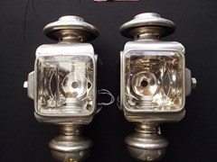 Navigate to Opera style paraffin front side lamps