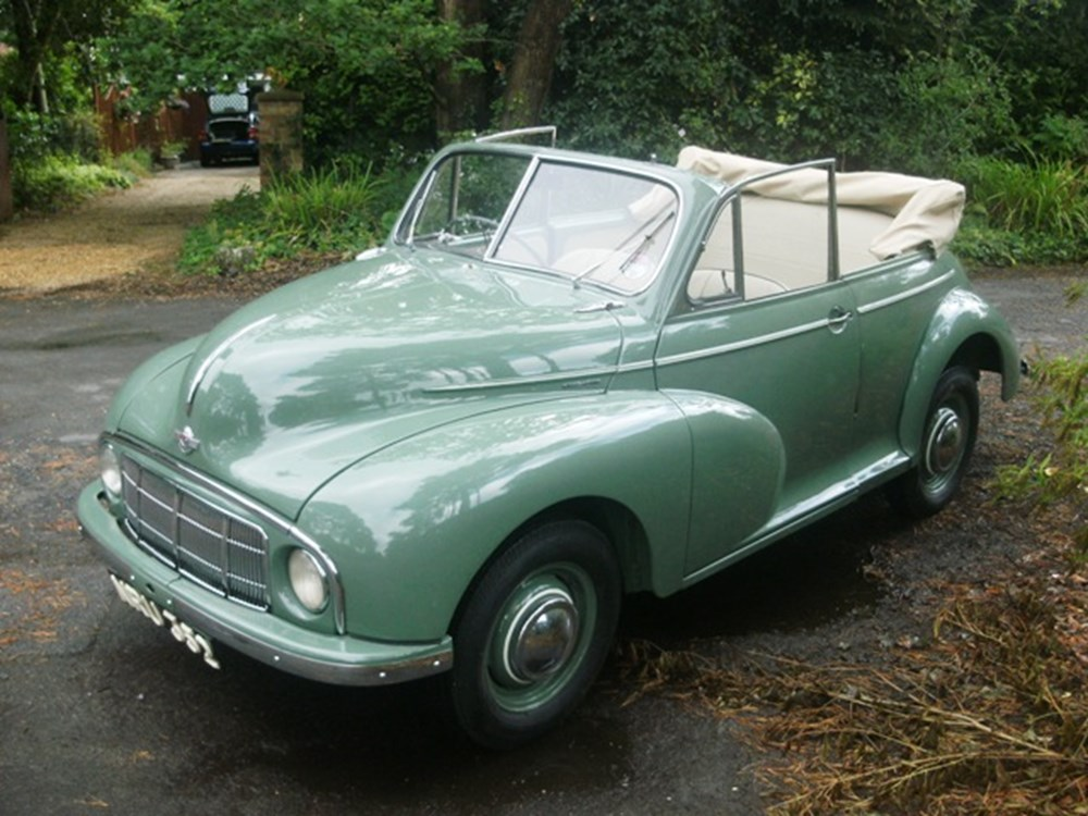 Lot 250 - 1950 Morris Minor Lowlight Convertible