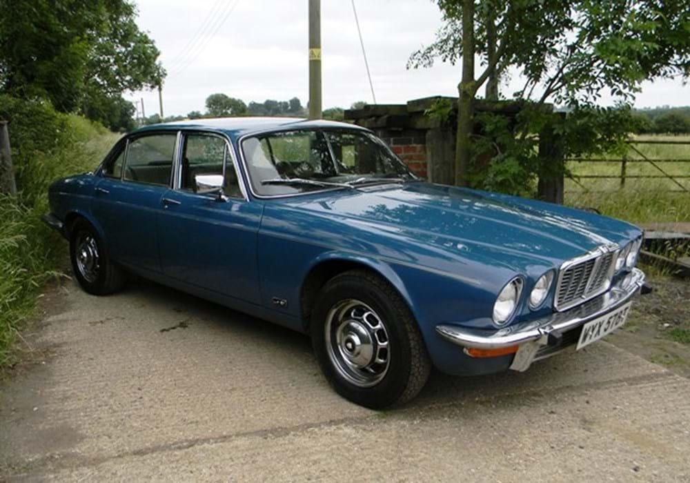 1978 jaguar xj6 series ii classic sports car auctioneers. Black Bedroom Furniture Sets. Home Design Ideas