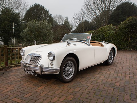 Ref 97  1958 MG A Roadster