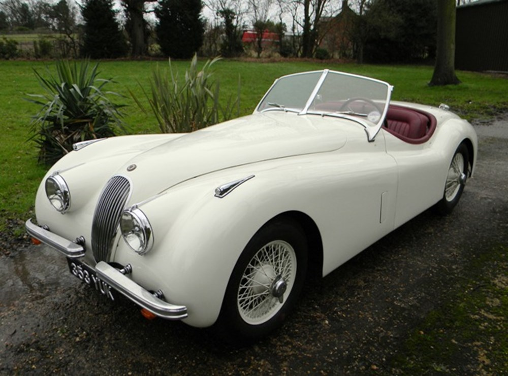Lot 233 - 1952 Jaguar XK120 Roadster