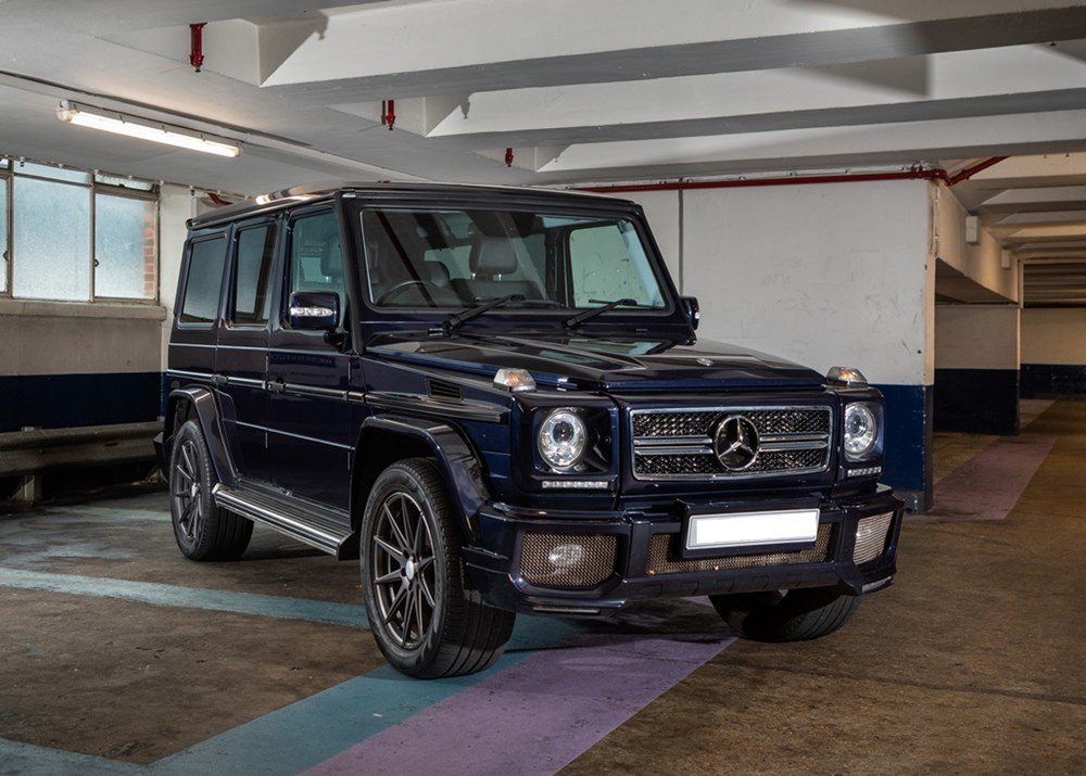 Lot 245 - 2011 Mercedes-Benz G350