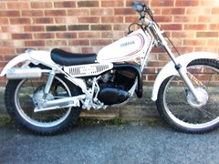Navigate to Lot 302 - 1980 Yamaha TY125