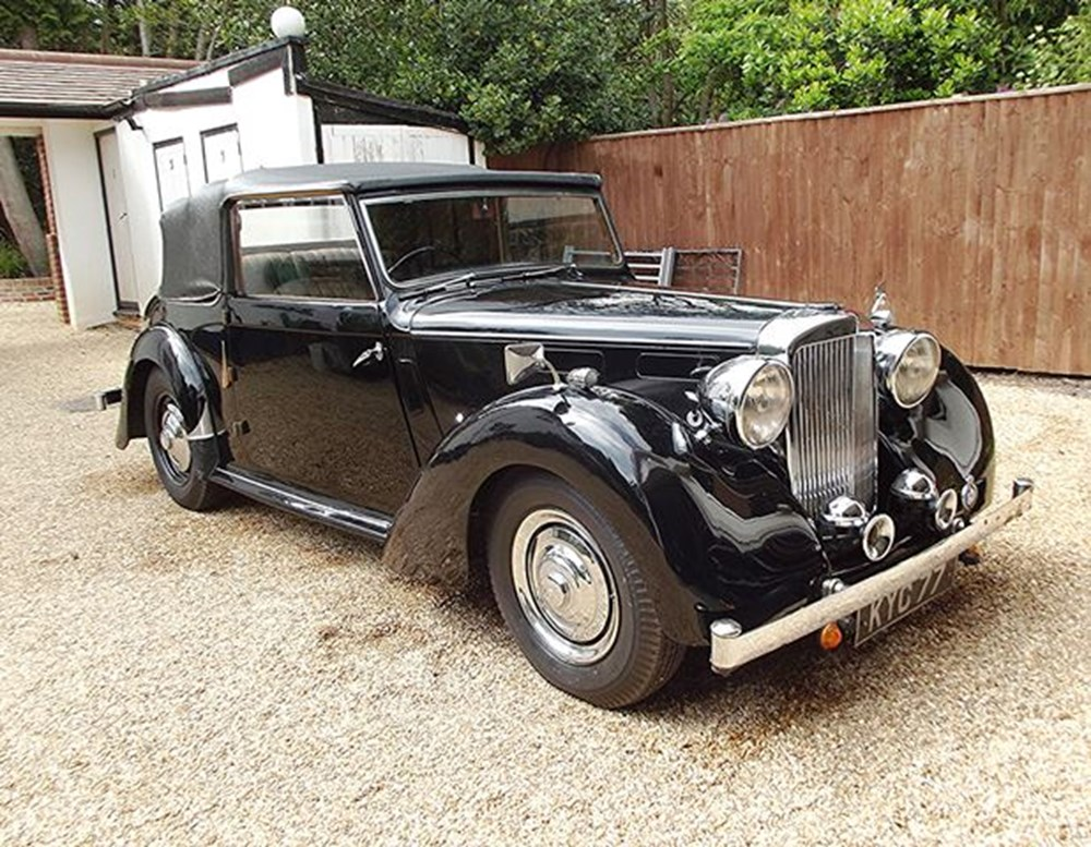Lot 289 - 1948 Alvis TA14 Three Position Drophead Coupé by Carbodies