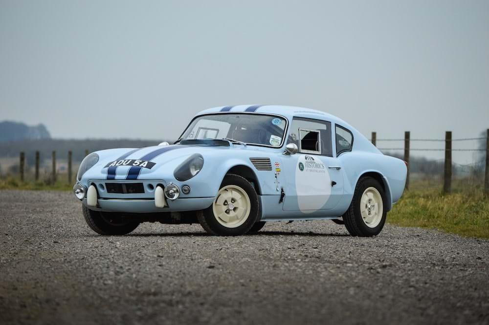 Ref 58 1963 Triumph Spitfire GT6R Le Mans Recreation