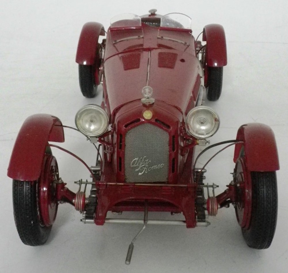 Lot 37 - An Alfa Romeo 8C 2300 Monza model.