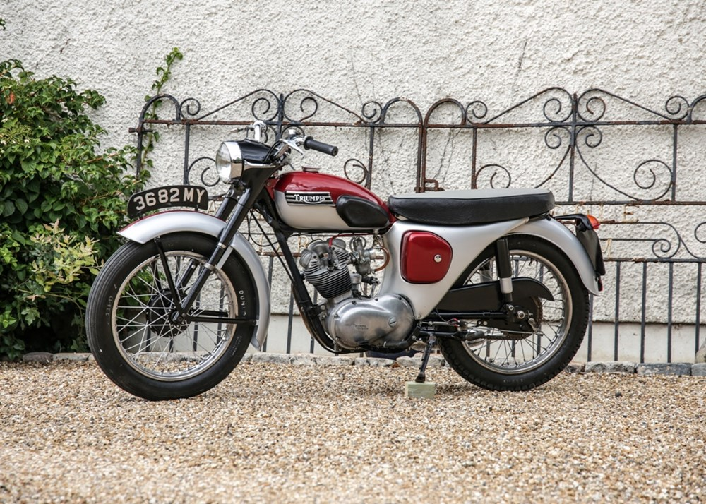 Lot 111 - 1961 Triumph T20 Tiger Cub