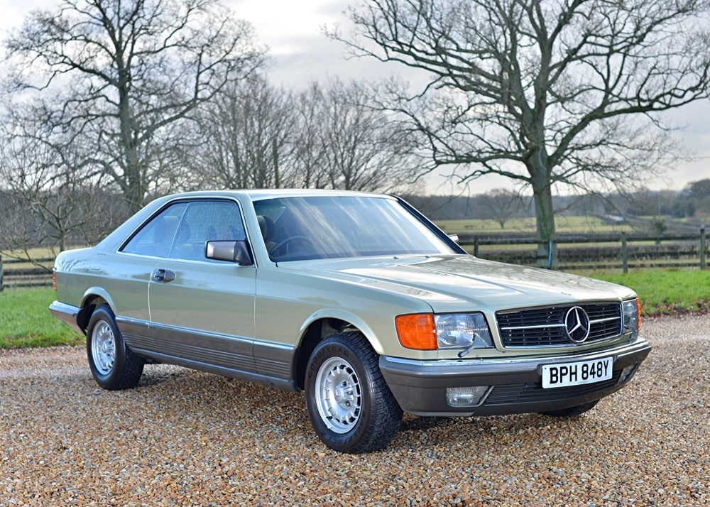 Lot 241 - 1983 Mercedes-Benz 380 SEC Coupé
