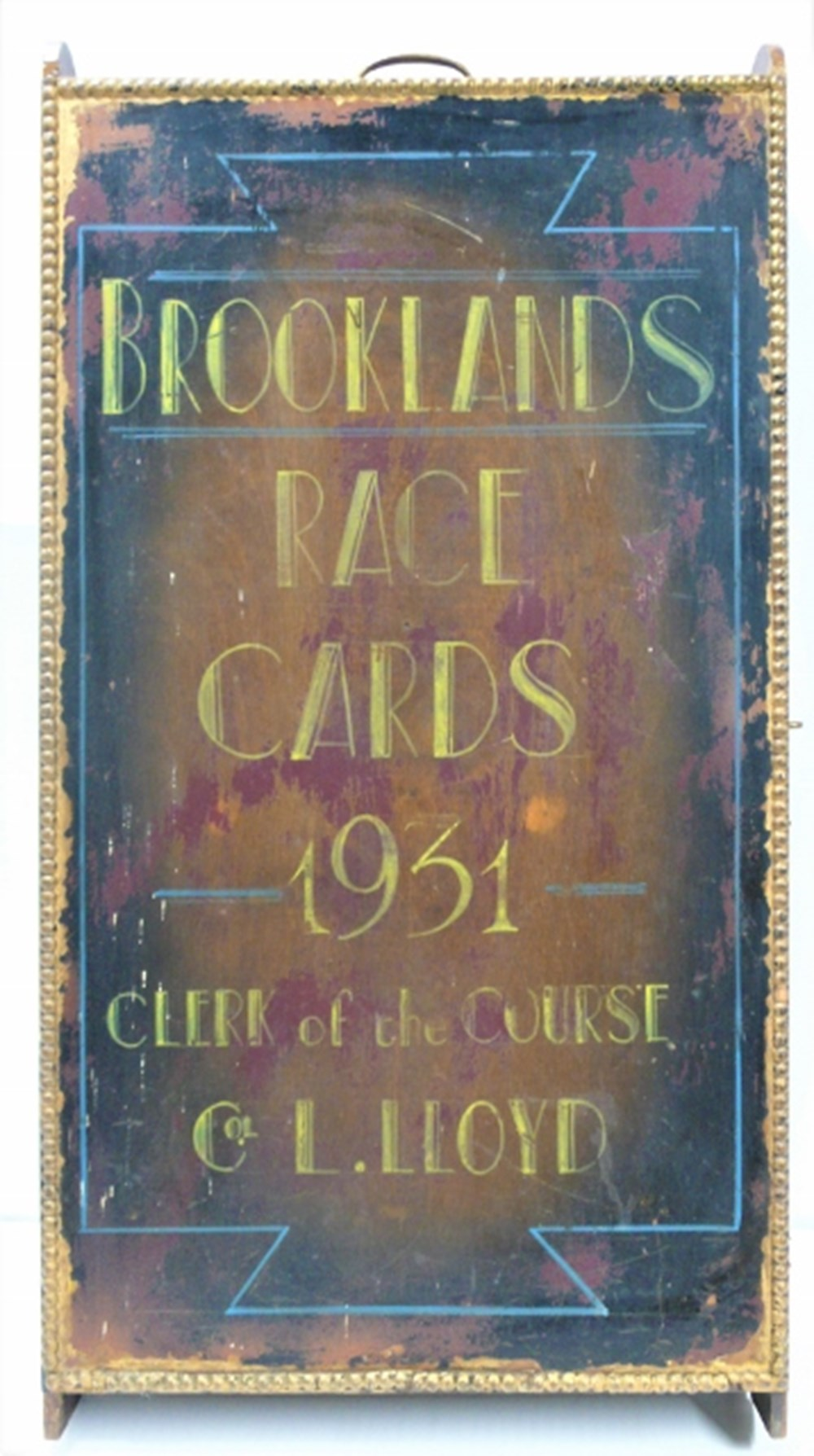 Lot 33 - A Brooklands programme carry case.