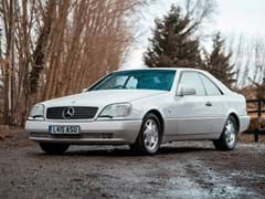 Navigate to Lot 276 - 1993 Mercedes-Benz 600 SEC