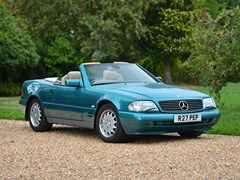 Navigate to Lot 144 - 1998 Mercedes-Benz SL 320 Roadster