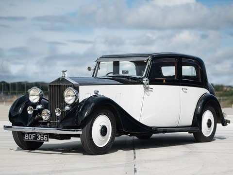 Ref 36 1935 Rolls Royce Sports Saloon