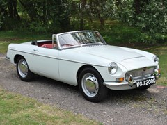 Navigate to Lot 243 - 1969 MG C Roadster Ex-Met Police traffic car