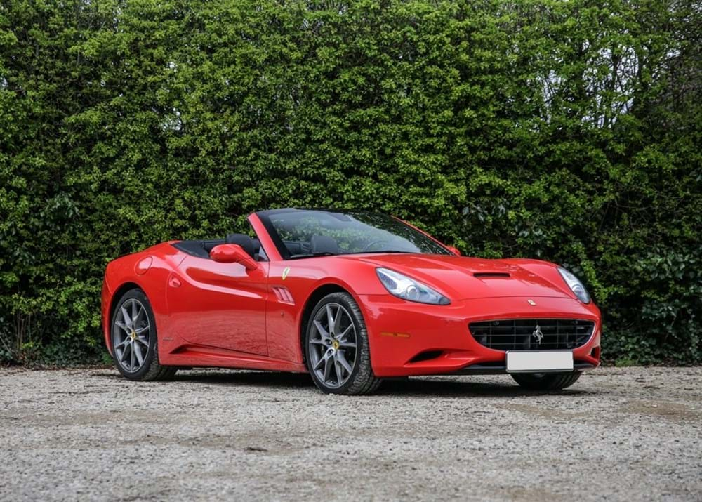 Lot 122 - 2011 Ferrari California