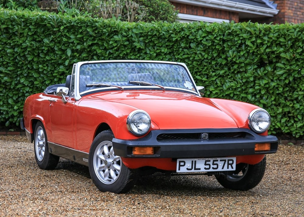 ref 94 1977 mg midget 1500 classic sports car auctioneers