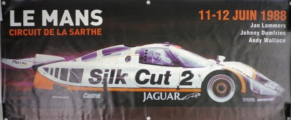 Lot 90 - Silk Cut Jaguar XJR-9