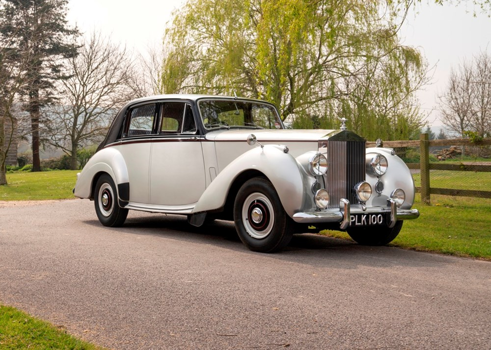 Lot 208 - 1954 Rolls-Royce Silver Dawn Standard Steel Saloon