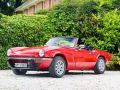 Navigate to Lot 107 - 1977 Triumph Spitfire Convertible (1500cc)