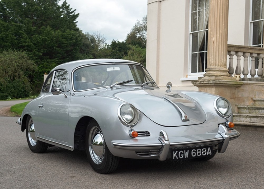 Lot 131 - 1962 Porsche 356 B Coupé