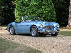 Navigate to Lot 183 - 1957 Austin-Healey 100-6S BN4