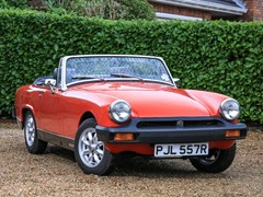 Navigate to Lot 349 - 1977 MG Midget 1500