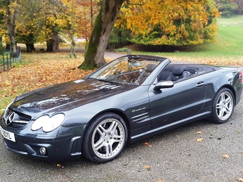 REF 75 2006 Mercedes-Benz SL 55 AMG F1 Performance Package