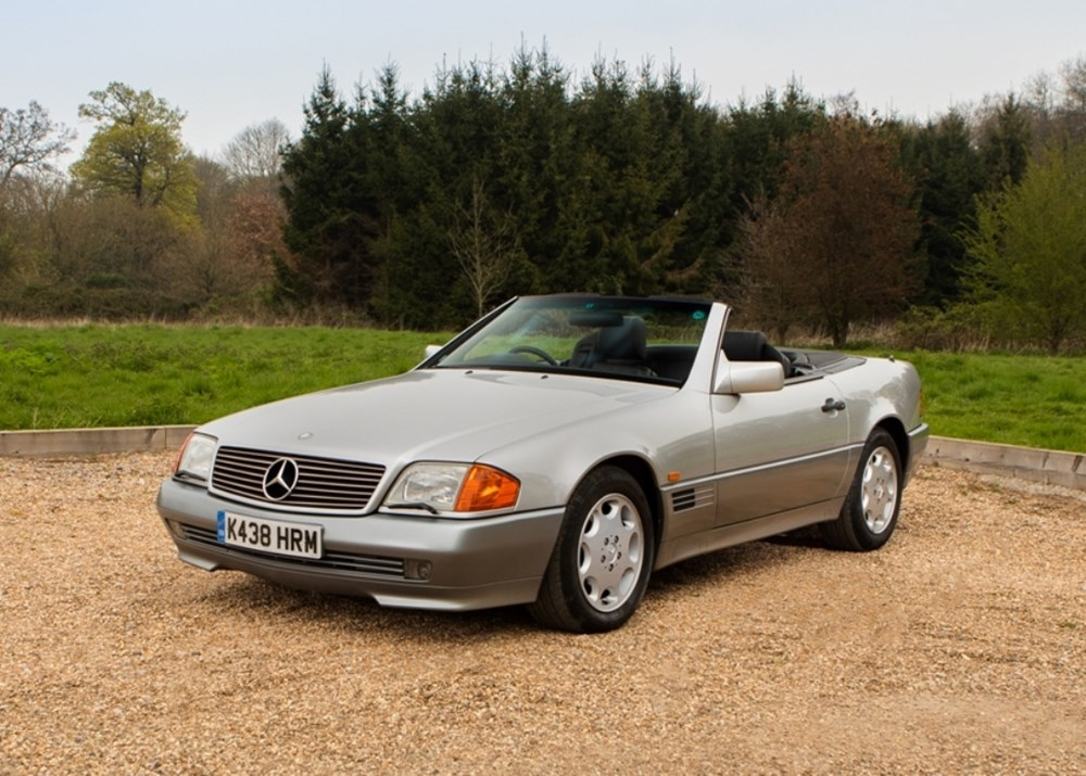 Lot 254 - 1993 Mercedes-Benz 500 SL Roadster *WITHDRAWN*