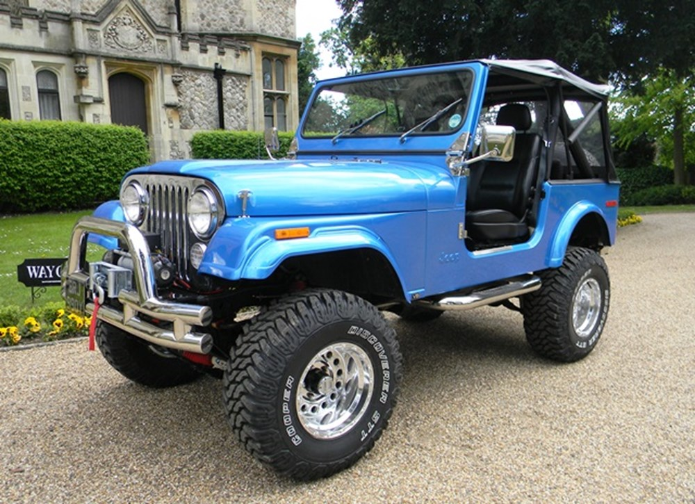 Lot 352 - 1982 Jeep CJ7