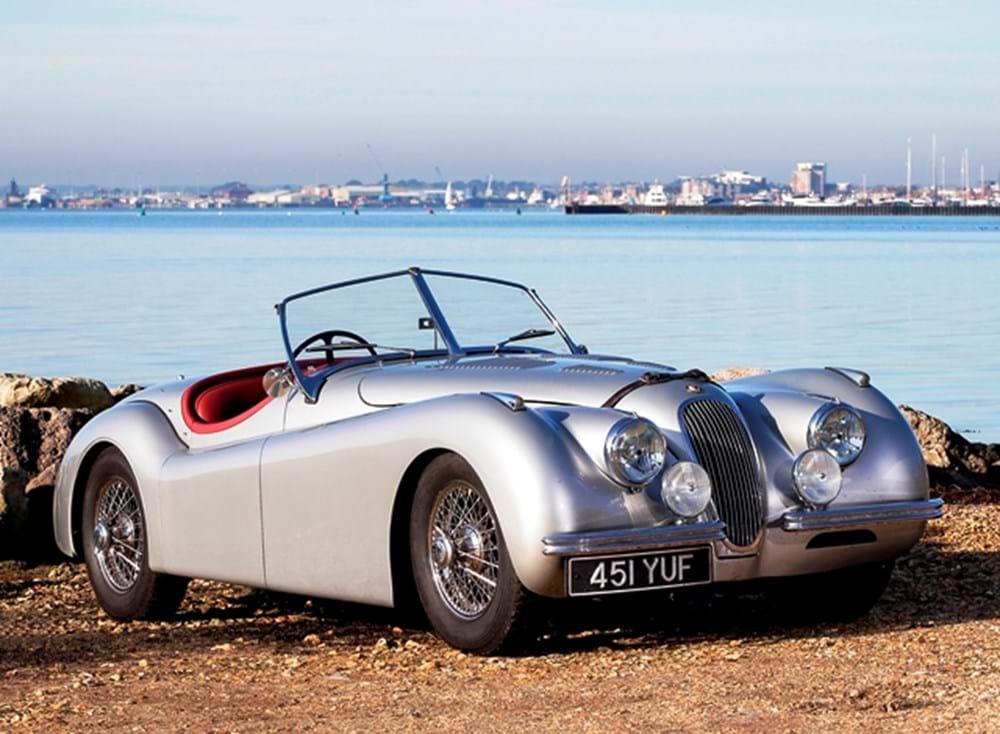 ref 16 1954 jaguar xk120 se roadster