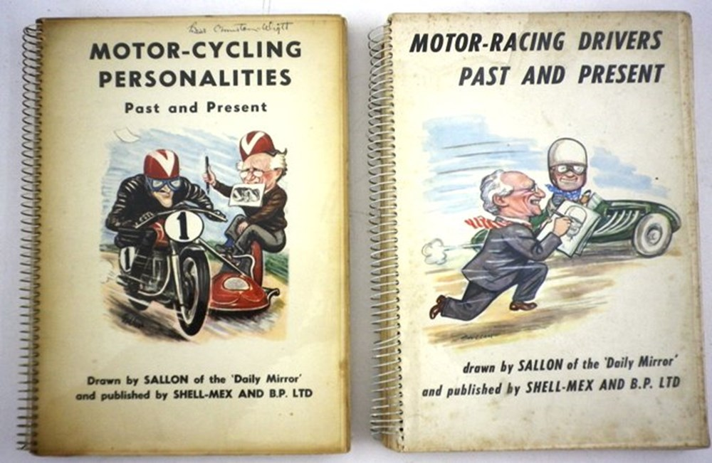 Lot 015 - Motor Racing Personalities