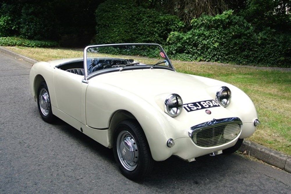 ref 84 1959 austin healey frogeye sprite. Black Bedroom Furniture Sets. Home Design Ideas