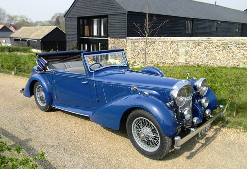 Lot 347 - 1938 Alvis Speed 25 TSC three position DHC by Charlesworth
