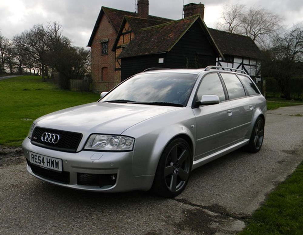 Lot 291 - 2004 12850 RS6 Avant Plus