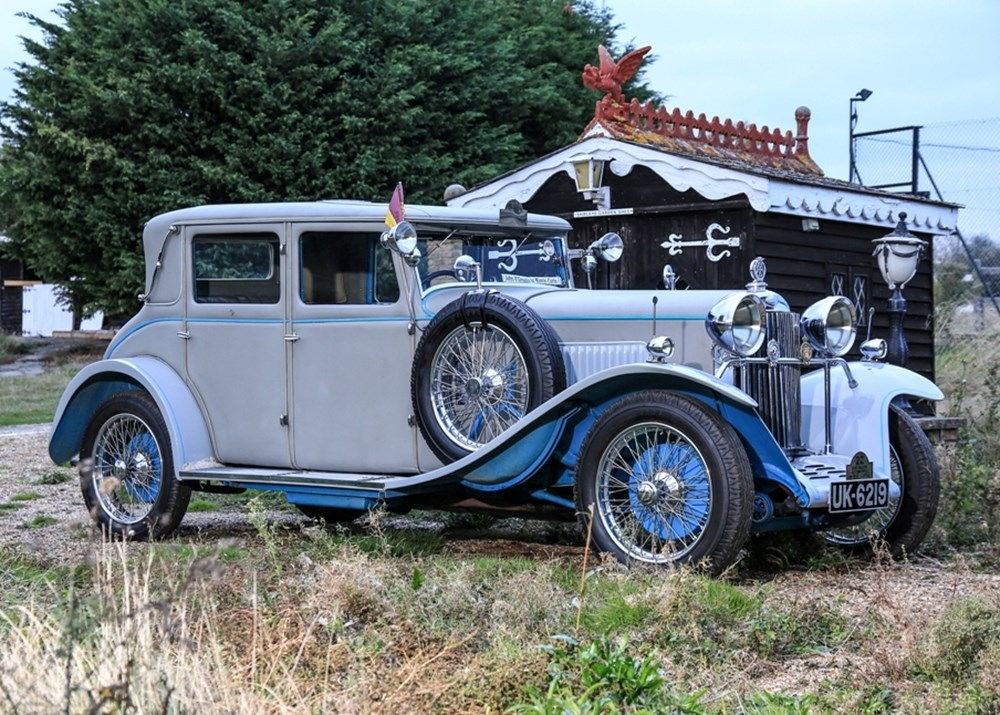 Lot 268 - 1928 Sunbeam 20HP Rally Saloon 'Magnificent Monte'