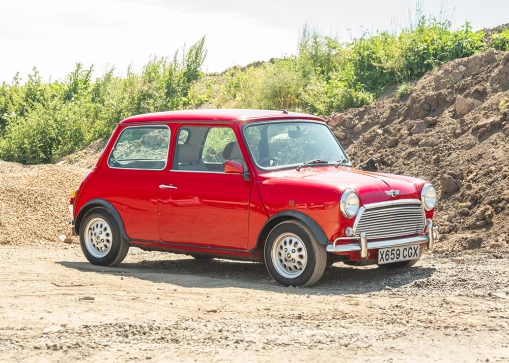 Lot 128 - 2001 Rover Mini Seven